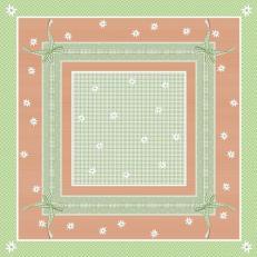 Tischdecken aus Airlaid 80 x 80 cm; Typ: FINN grün; 50 Stück im Karton