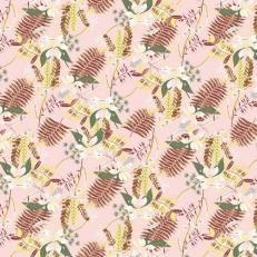 Tischdecke aus Linclass HENNES ROSE 80 x 80 cm