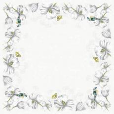Tischdecke aus Linclass ISABEAU 80 x 80 cm
