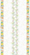 Tischdeckenrolle LET´S PARTY GRÜN-BRAUN aus Airlaid; 120 cm x 25 lfm