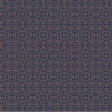 Tischdecken CLAUDIO DUNKELBLAU-BRAUN 80 x 80 cm aus Linclass