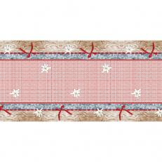 Linclass-Tischläufer ALMBLICK 40 cm breit