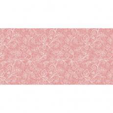 Linclass-Tischläufer DARLYN TERRAKOTTA 40 cm breit