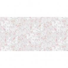 Linclass-Tischläufer DION GRAU-ROSA 40 cm breit