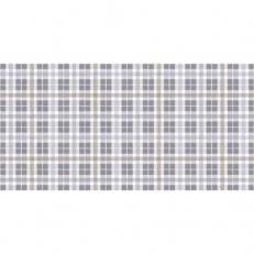 Linclass-Tischläufer FRED BLAU-DUNKELGRAU 40 cm breit