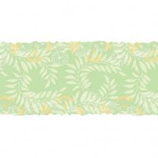 Linclass-Tischläufer GORDON GRÜN 40 cm breit