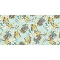 Linclass-Tischläufer HENNES BLAU-GRAU 40 cm breit