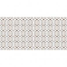 Linclass-Tischläufer LUDO BEIGE-GREY-BRAUN 40 cm breit