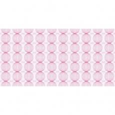 Linclass-Tischläufer LUDO ALTROSA-BORDEAUX 40 cm breit