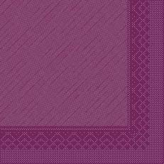 Tissue-Deluxe 40x40 cm; 600 Stück im Karton; Farbe: AUBERGINE