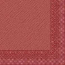 Tissue-Deluxe 40x40 cm; 600 Stück im Karton; Farbe: bordeaux