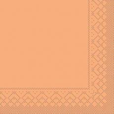 Tissue-Serviette 25x25 cm; 1000 Stück im Karton; Farbe: APRIKOT