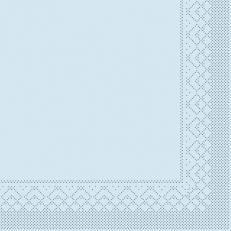 Tissue-Serviette 25x25 cm; 1000 Stück im Karton; Farbe: HELLBLAU