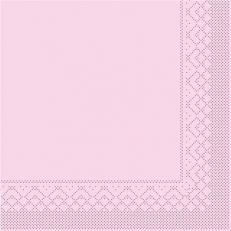 Tissue-Serviette 25x25 cm; 1000 Stück im Karton; Farbe: ROSA