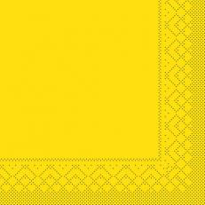 Tissue-Serviette 25x25 cm; 1000 Stück im Karton; Farbe: gelb
