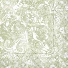 Tissue-Serviette FELICIA OLIV 33x33 cm; 800 Stück im Karton