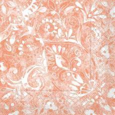 Tissue-Serviette FELICIA TERRAKOTTA 33x33 cm; 800 Stück im Karton