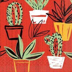Tissue Serviette SANCHO MEXICAN-STYLE 33 x 33 cm; 800 Stück im Karton