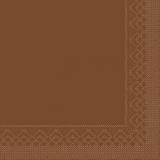 Tissue-Serviette BRONZE 33x33 cm; 800 Stück im Karton