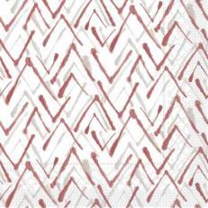 Tissue-Serviette ZACK GRAU-BORDEAUX 33x33 cm; 800 Stück im Karton
