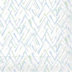 Tissue-Serviette ZACK GRÜN-BLAU 33x33 cm; 800 Stück im Karton