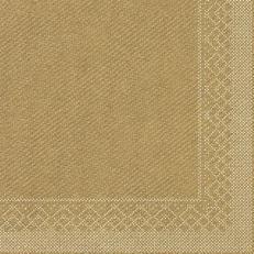 Tissue-Serviette GOLD 33 x 33 cm;  200 Stück im Pack