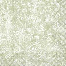 Tissue Serviette FELICIA OLIV 40 x 40 cm; 1200 Stück im Karton