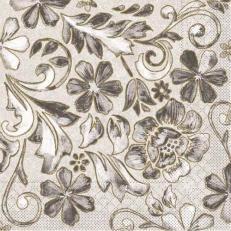 Tissue Serviette GEORG GRAU 40 x 40 cm; 1200 Stück im Karton
