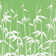 Tissue Serviette GREEN BAMBOO 40 x 40 cm; 1200 Stück im Karton