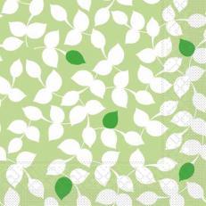 Tissue Serviette SILAS GRÜN 40 x 40 cm; 1200 Stück im Karton
