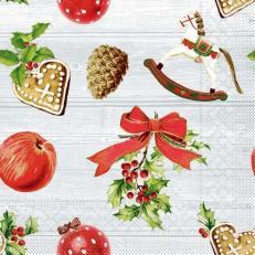 Tissue-Serviette ADVENT 33 x 33 cm