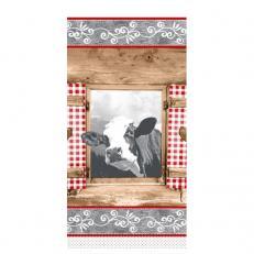 Tissue-Serviette ALMBLICK 1/8-Falz 33 x 33 cm