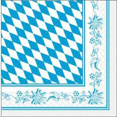 Tissue-Serviette 33x33 cm; 800 Stück im Karton; Typ: BAYERN