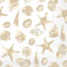Tissue-Serviette BEACH SAND 33 x 33 cm