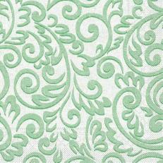 Tissue-Serviette BOSSE GRÜN 33 x 33 cm