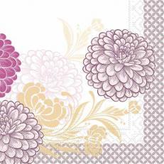 Tissue-Serviette CLARISSA VIOLETT 40 x 40 cm