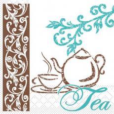 Tissue-Serviette COFFEE-TEE 24 x 24 cm