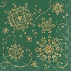 Tissue-Serviette CRISTAL GRÜN 33x33 cm; 800 Stück im Karton