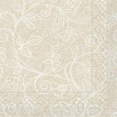 Tissue-Serviette DARLYN HELLBRAUN 40 x 40 cm