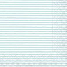 Tissue-Serviette HEIKO HELLBLAU 25 x 25 cm