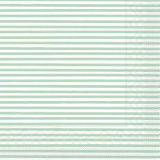 Tissue-Serviette HEIKO MINTGRÜN 25 x 25 cm