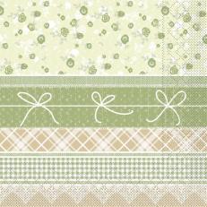 Tissue-Serviette HERMINE NATUR 33 x 33 cm