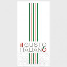 Tissue Serviette IL GUSTO ITALIANO 40 x 40 cm; 1500 Stück im Karton