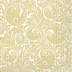 Tissue-Serviette JORDAN WEISS GOLD 40 x 40 cm