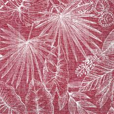 Tissue-Serviette KONA BORDEAUX 40 x 40 cm