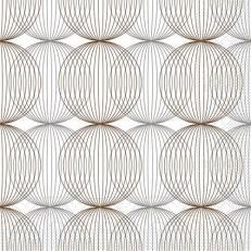 Tissue-Serviette LUDO BEIGE-GREY-BRAUN 40 x 40 cm