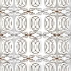 Tissue-Serviette LUDO BEIGE-GREY-BRAUN 24 x 24 cm
