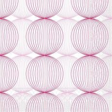 Tissue-Serviette LUDO ALTROSA-BORDEAUX 40 x 40 cm