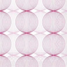 Tissue-Serviette LUDO ALTROSA-BORDEAUX 24 x 24 cm
