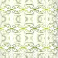 Tissue-Serviette LUDO LIME-OLIV 40 x 40 cm